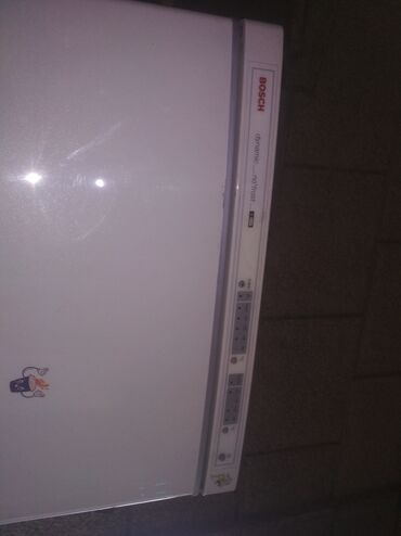 мотор-холодильника-цена в Кыргызстан: Б/у Двухкамерный Белый холодильник Bosch