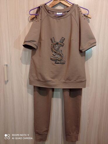 Спортивные костюмы - Кыргызстан: Спортивный костюм женский  Производство - Турция  Размер 46-48