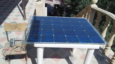 Bakı şəhərində Gunes panel   150 -160 watt   15 - 17 volt    1 ededi 350 manat