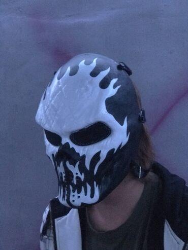 Маски, очки - Бает: Наружная маска для страйкбола, пейнтбольная маска для полной защиты