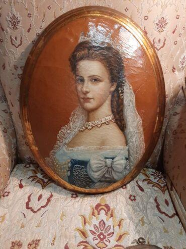 Slike na platnu - Srbija: Umetnicka slikaulje na platnu kasirano na drvo