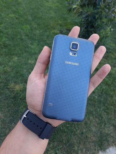 ayfon s5 - Azərbaycan: İşlənmiş Samsung Galaxy S5 Duos 16 GB göy