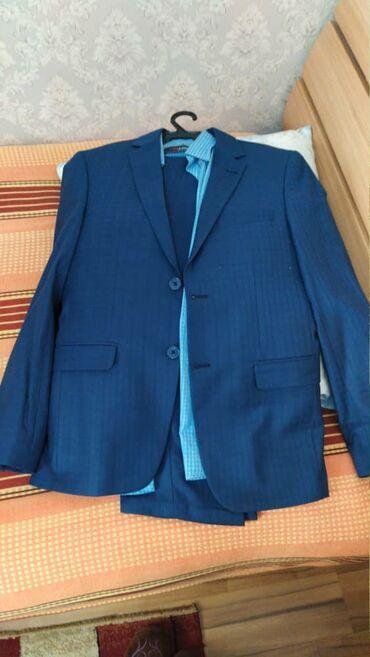 свадебное платье размер 46 48 в Кыргызстан: Продам костюм двойка, Турция, одевал 3 раза на свадьбу, размер 46-48