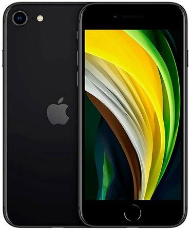 iphone se 2020 цена в бишкеке в Кыргызстан: Новый iPhone SE 2020 64 ГБ Черный