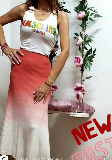 Suknja-hm-pamuk-elastin-cm-struk - Srbija: Suknja fantastičan kvalitet i model uvoz Turska pamuk-elastin