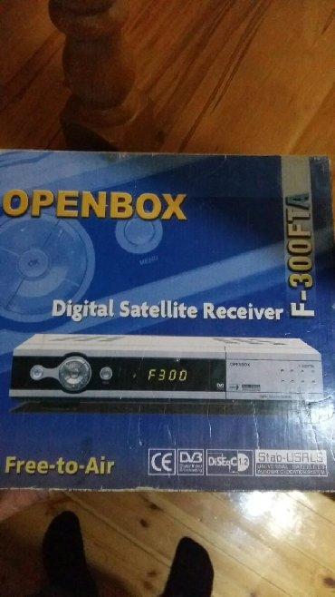 Bakı şəhərində Openbox 300FTA.Çanaq antena üçün tuner.təzəzdi.işlənməyib