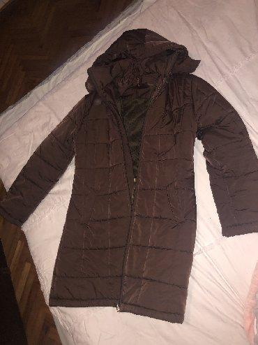 Zimska-jakna-topla-xl - Srbija: Zimska braon jakna Topla i prijatna