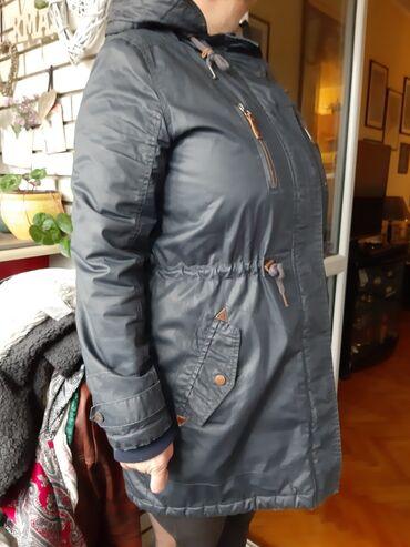 C&A teget zimska jakna sa postavljenom kapuljačomKapuljača se ne