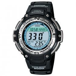 электронные термометры в Кыргызстан: Черные Мужские Наручные часы Casio