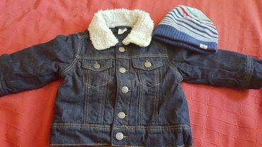 HM teksas jakna sa krznom I kapa kao novo divno vel.74 - Pozarevac