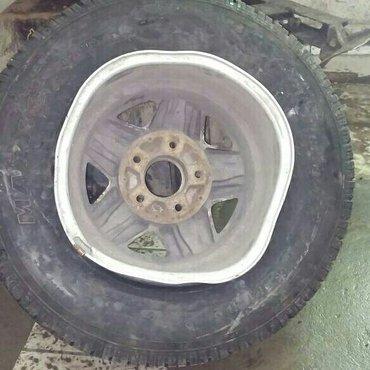 Ремонт автомобильных дисков!Аргонная сварка.Рихтовка.Выпрямление. в Бишкек
