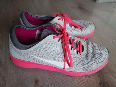 Nike patike, 38 vel, 24 cm gaziste, malo nosene