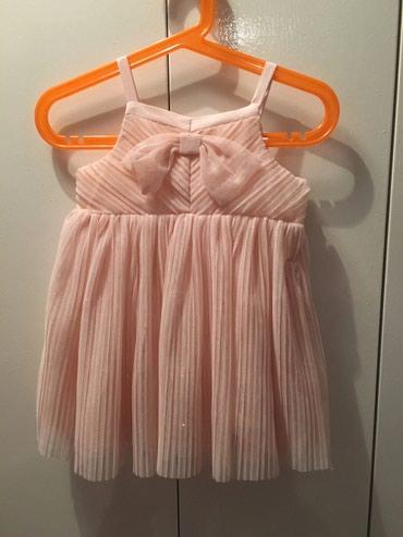 H&M haljinica, 9-12meseci, prelepa puder roze - Belgrade