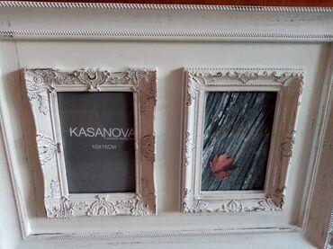 Ram za slike koji sam kupila u Napulju u njihovoj radnji KASANOVA