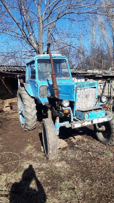 Трактора б у - Кыргызстан: Продаю срочно трактор мтз- 80 без д. Только пишите не звоните
