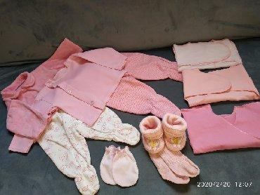 для-новорожденных в Кыргызстан: Для новорожденных. Добавила ещё 2 чепчика и шапочку теплую)
