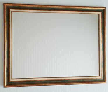 Odlicna ponuda! Ogledalo, kvalitetan ram. Dimenzije ogledala sa ramom
