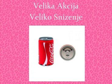 Elektronika - Pozarevac: VELIKA AKCIJA-VELIKO SNIŽENJEZvucnik Coca Cola Limenka Usb,SDSamo 950