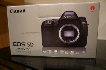 Νέο και πρωτότυπο Canon EOS 5d Mark IV DSLR