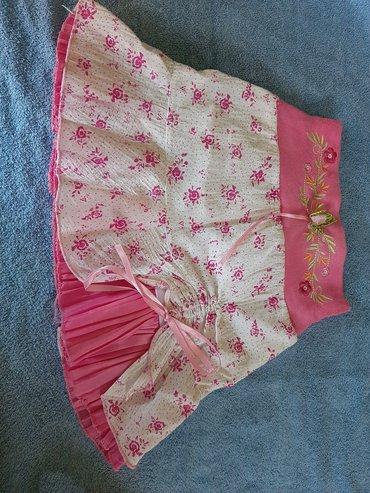 Suknja za devojcice Duzina 28, sirina kukova 28