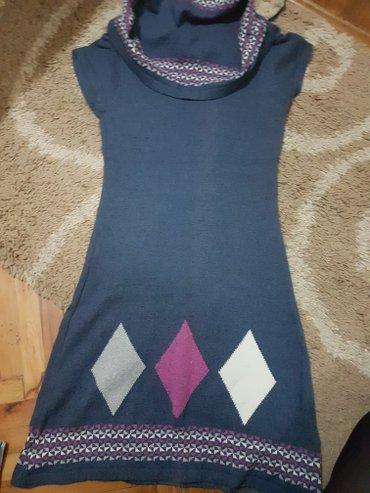 Prelepa zimska haljina ja sam je nosila jednom ispod sa jednobojnom - Sid