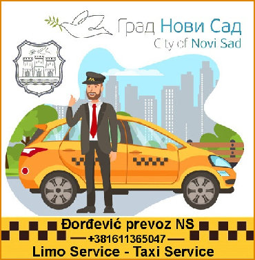 Taxi Novi Sad - Srbobran,Privatni najam vozila sa vozačem (do 4