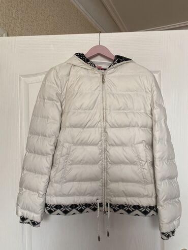 Красивая зимняя белая куртка tuo mai fly размера l (на 44-46 где-то) в