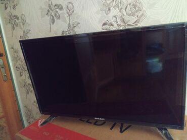 82 ekran smart televizor.təzədir işlənməyib.Qiymət 300 Azn