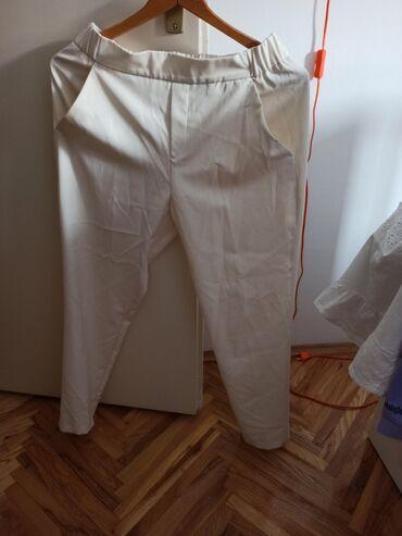 Zenske pantalone broj mis boja - Srbija: Bas lepe zenske letnje pantalone. M velicina. Krem boja