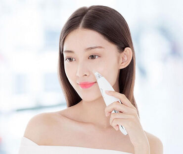 Вакуумный аппарат для чистки лица Xiaomi InFace MS7000 (White)