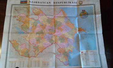 Azərbaycan Respublikasının siyasi-inzibati xəritəsi satılır. Təzədir