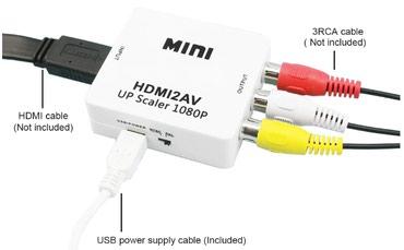 HDMI к AV/RCA CVBS адаптер в Bakı