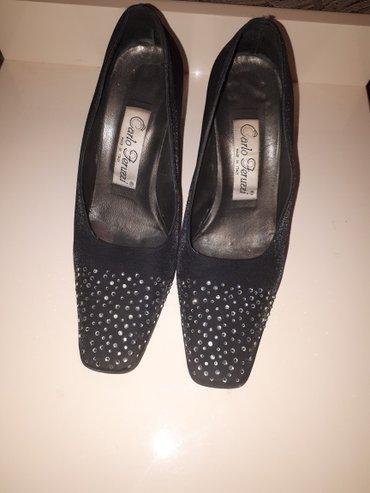 Модные итальянские классические сатиновые туфли со стразами carlo feru в Бишкек