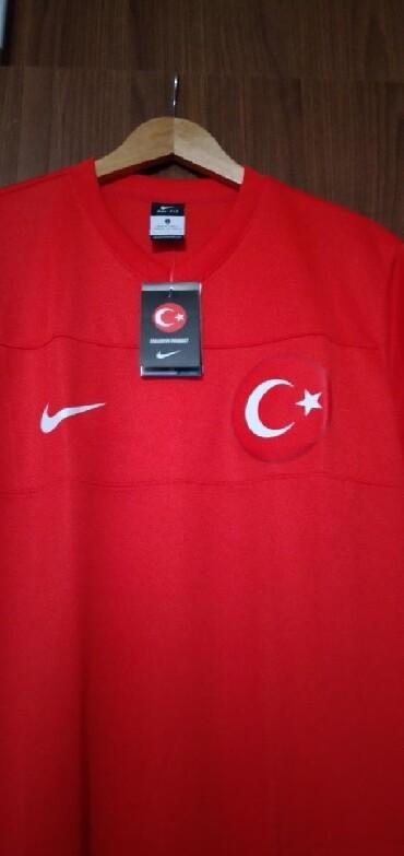 uşaqlar üçün uzunqol futbolkalar - Azərbaycan: Original Nike futbolka. Türkiyədə alınıb yenidir. Razmer L. Türkiyə