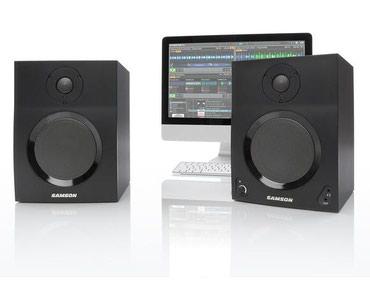 Bakı şəhərində Samson firmasina mexsus MediaOne BT5 studio monitor
