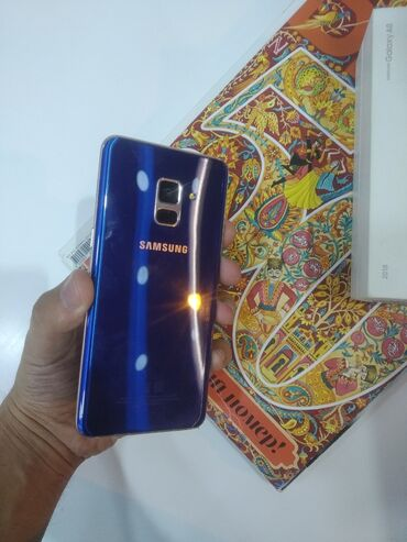 audi a4 32 fsi - Azərbaycan: İşlənmiş Samsung Galaxy A8 2018 32 GB göy