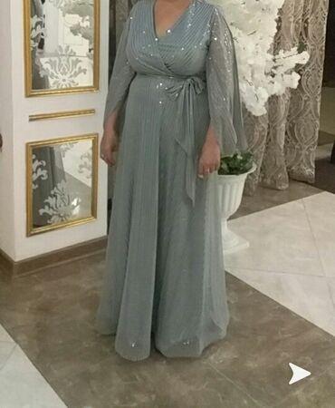 вечерние платья для свадьбы в Кыргызстан: Продаю вечернее платье,одевала только на свадьбу.Размер