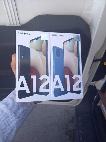 1057 elan: Samsung Galaxy A12 | 64 GB | Qara | Zəmanət, İki sim kartlı