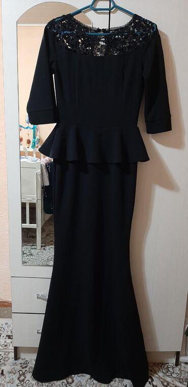черное платье на свадьбу в Кыргызстан: Продаю 2 платья, носила всего один раз на свадьбу. Состояние идеальное