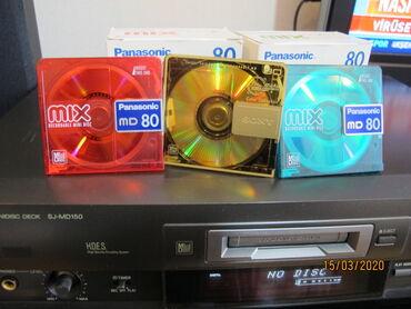 hard disc - Azərbaycan: Techniks MD mini disk 24 bit . super ideal veziyyetde yuksek profess