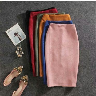 юбка бордовая в Кыргызстан: Новая юбка бордового цвета размер S 40-42