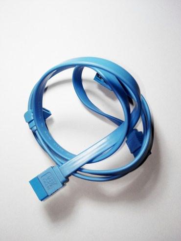 SATA кабель. (с застёжками) в Бишкек