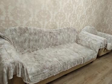 Накидка на диван и 2 кресла, все за 2000  в Бишкек