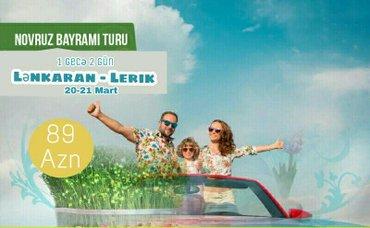 Bakı şəhərində Lənkəran - lerik turu