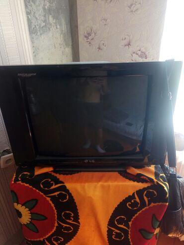 телевизор lg чёрный в Кыргызстан: Продаю LG телевизор состояние идеальное в рабочий Торг уместен