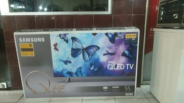 Bakı şəhərində Samsung 140 sm /55 duym qled 4K ultra hd ekranli smart televizor.