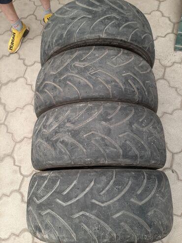 шины на 17 цена в Кыргызстан: Продаю полуслики dunlop durreza 2015года размер 235/45/17 цена 12тыс