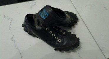 WORN AGAIN unisex patike -cipele crne,broj 40 kozne (nosene) 1500 rsd - Beograd