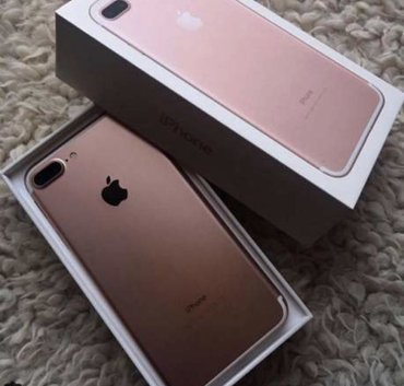 Iphone 7 plus 32 gb rose США  Только конкретные покупатели Обмен  в Бишкек