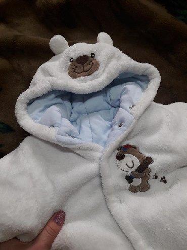 Верхняя одежда в Сокулук: (Сокулук) Детский комбинезон теплый на синтепоне, можно и на зиму